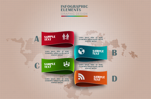 Free PSD Infographic Design Template