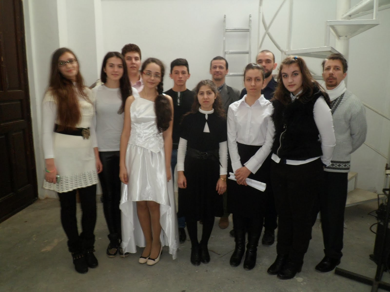 GRUPUL VOCAL-Teatrul Victor Ion Popa-13 decembrie 2013