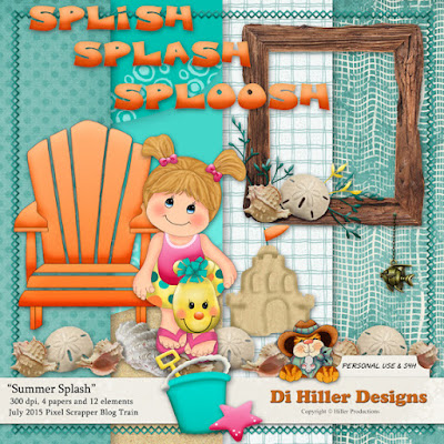 Summer Splash Blog Train Freebie