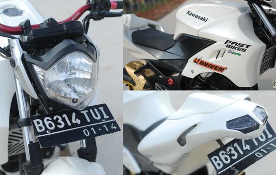 Custom Kawasaki Ninja 250R