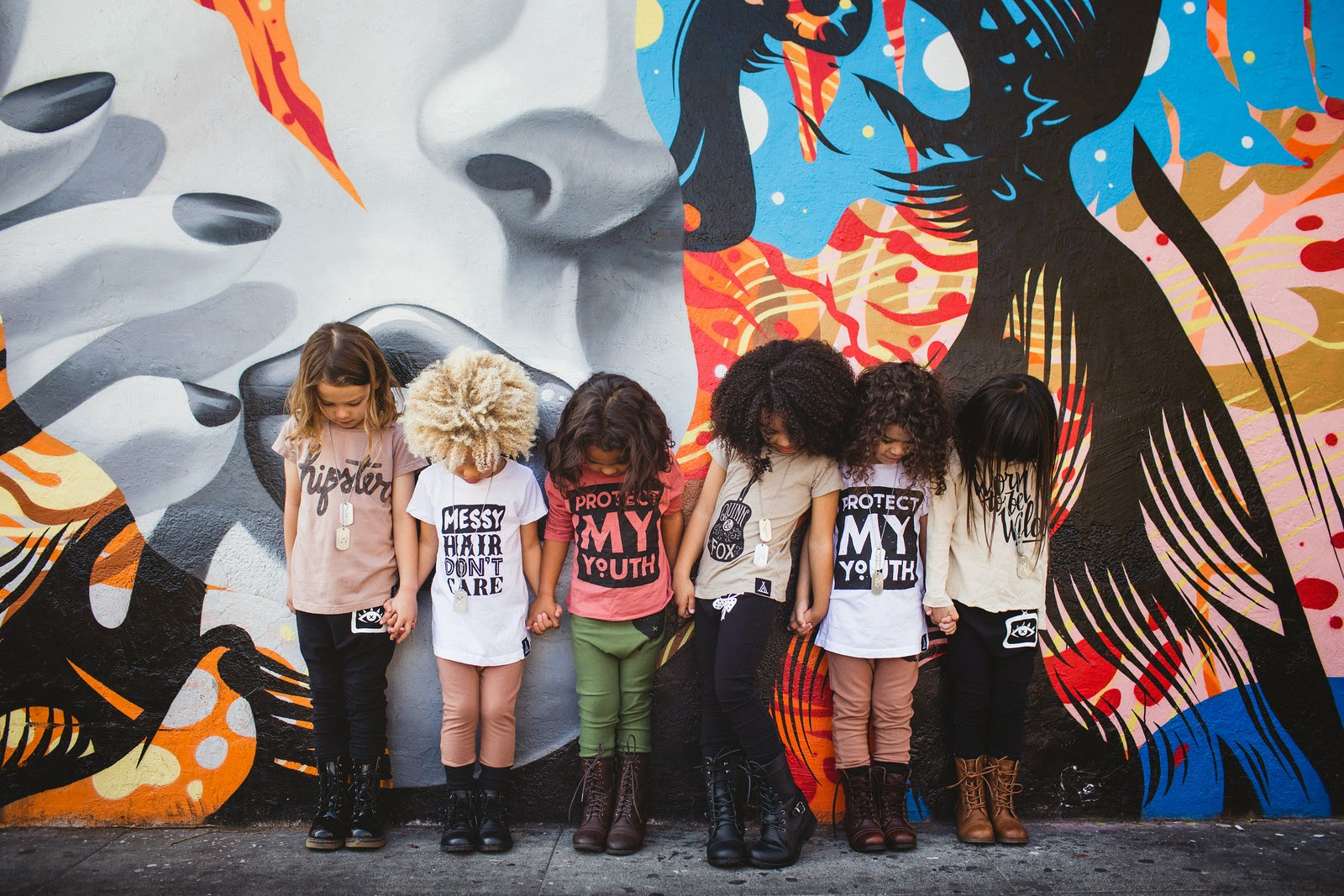 Cool kids tees by Quinn and Fox