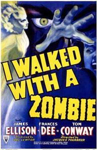 Cartel original de Yo anduve con un zombie