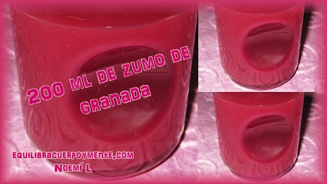 zumo de granada