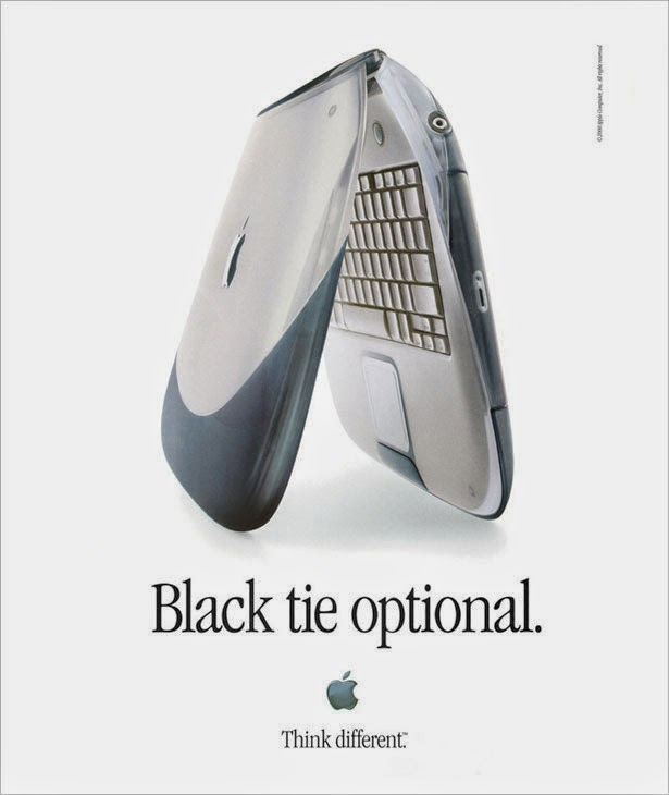 photo of the original iBook