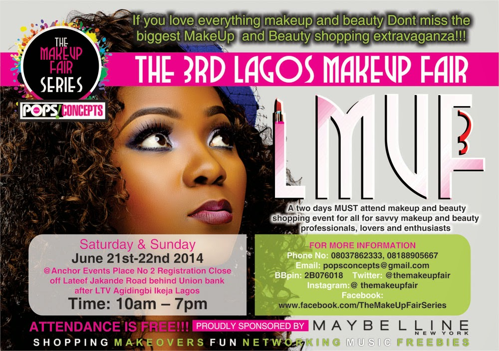 The 3rd Lagos Makeup Fair