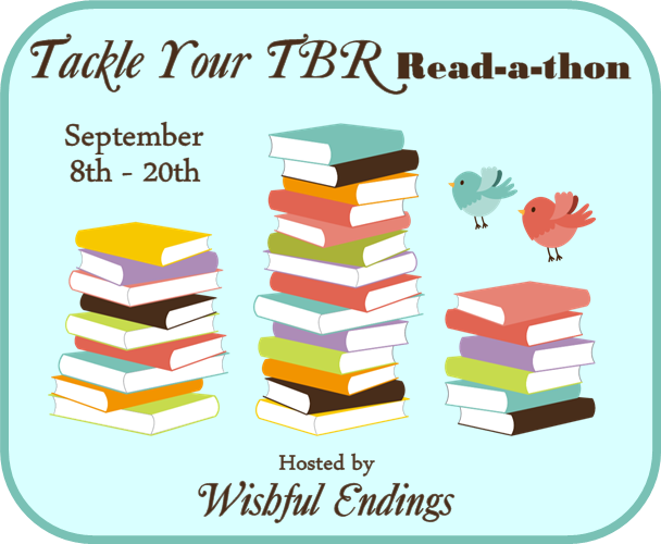 http://www.wishfulendings.com/2014/09/the-tackle-your-tbr-read-thon-has-begun.html