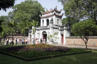 Main gate-Temple of Literature