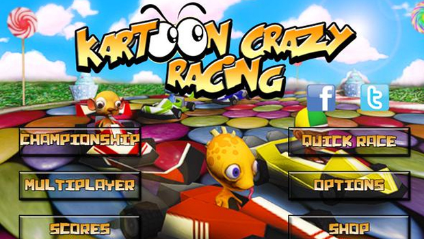Kartoon Crazy Racing v1.3 Apk Mod [Dinero ilimitado]