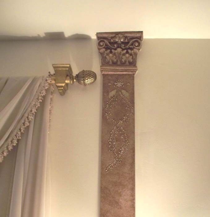 Victoria Larsen's Decorating with Class: Raised Plaster Stenciling ...