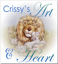 Visit my best friend, Crissy`s blog for beautiful creations