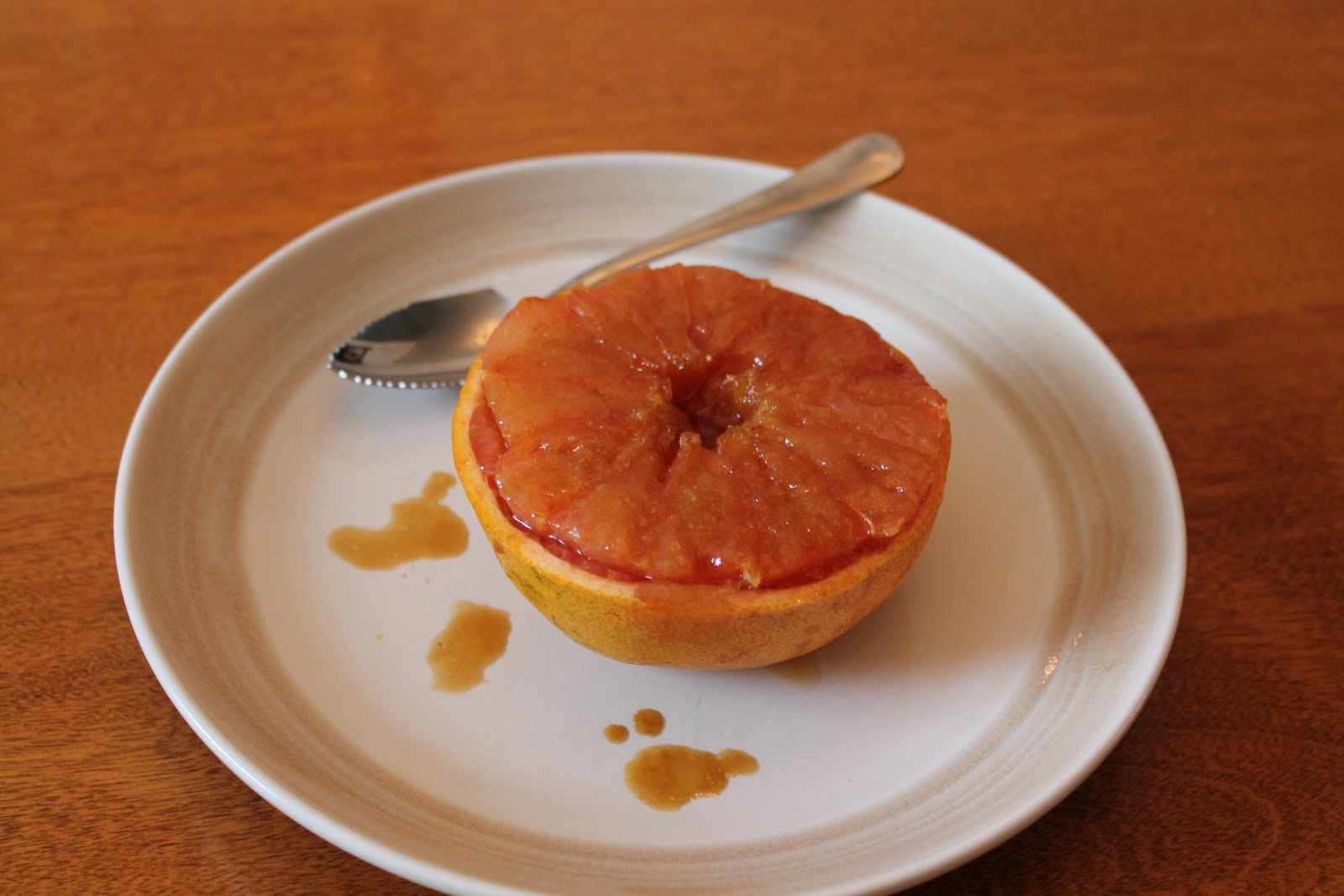 Savory Moments: Brown sugar and ginger broiled grapefruit
