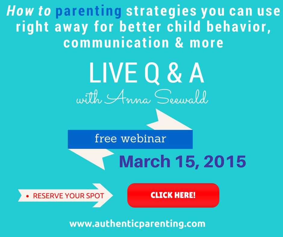 Free Parenting Webinar!