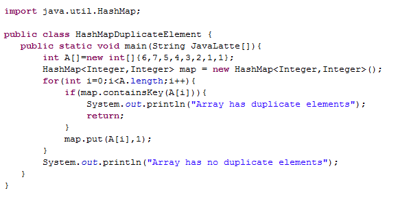 find duplicates in array java