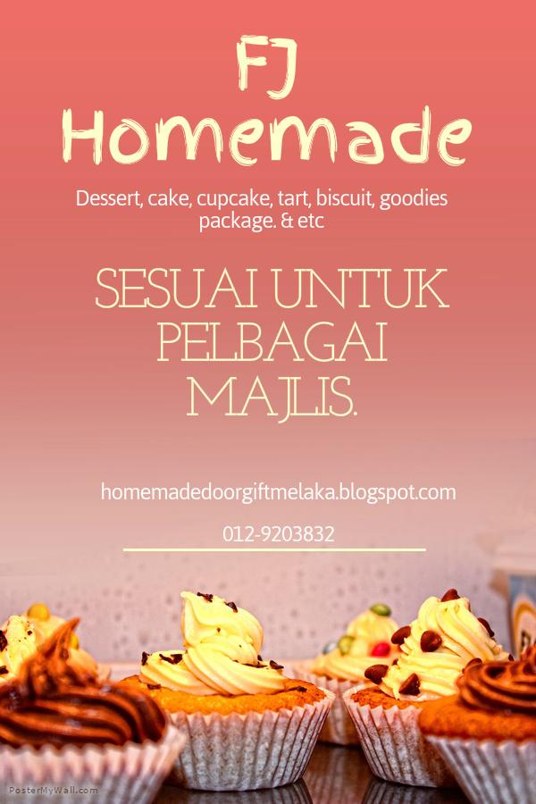 Homemade Cake & Doorgift Melaka