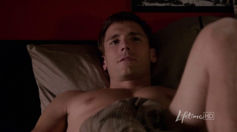 Andrew W. Walker Shirtless in Against the Wall s1e02