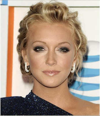 dewi image casual updo medium curly hairstyles