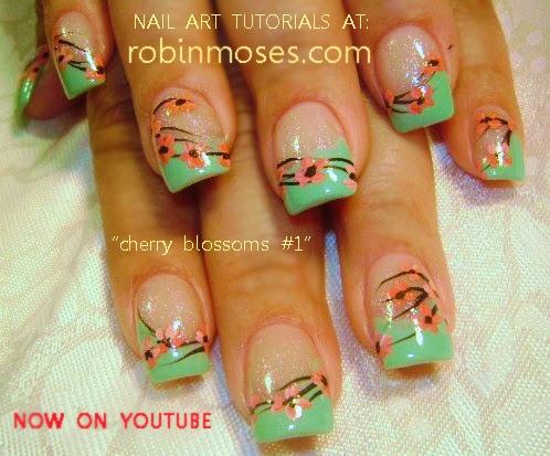 Robin moses nail art cherry blossom nail art cherry blossoms cherry blossom cherry blossom nails prinsesfo Images