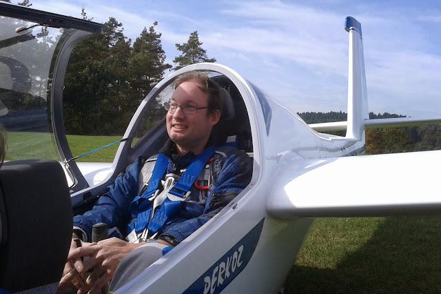 Thomas Brückelt jako drugi pilot