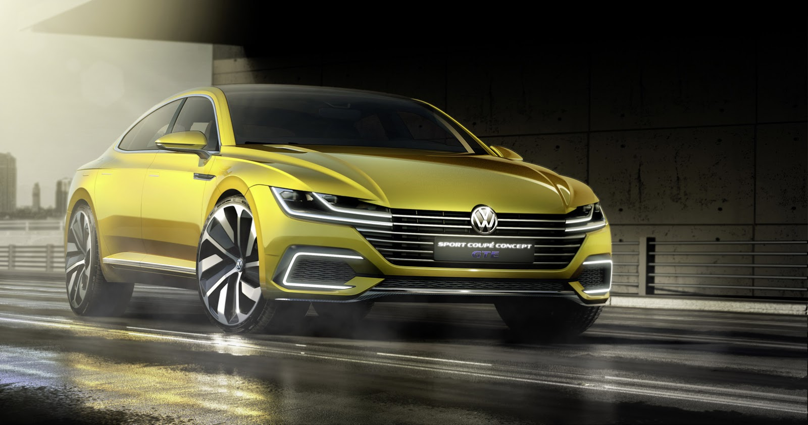 New vw sport coupe concept gte slots between passat and phaeton updated