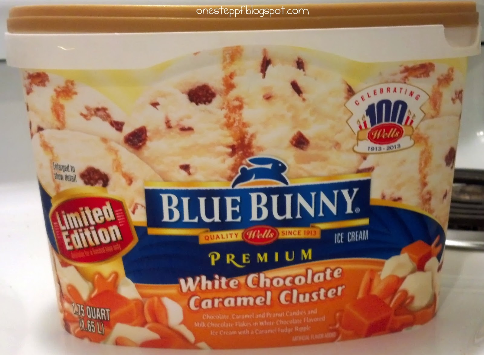 ... Time: Blue Bunny White Chocolate Caramel Cluster (An Ice Cream Review