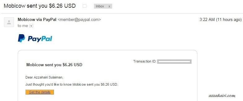 buat duit blog dengan mobicow
