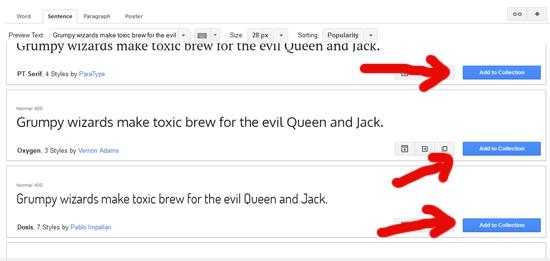 Cara memilih font yang menarik untuk blogspot