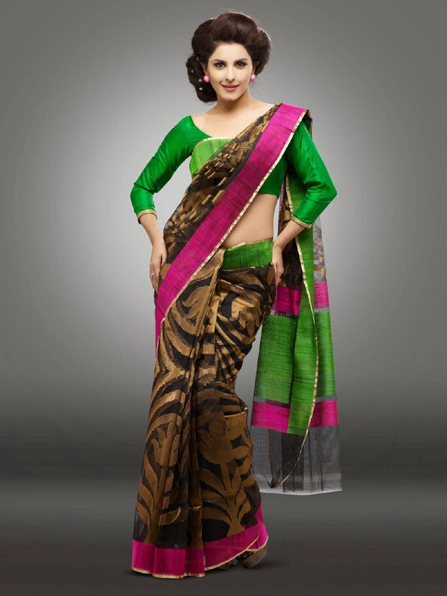 gorgeous Isha talwar in ethnic fashion saree photo shoot gallery