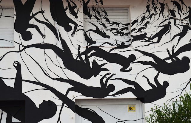 """Vortice"" New Mural BY David De La Mano on the streets of Punta Del Este in Uruguay. 4"