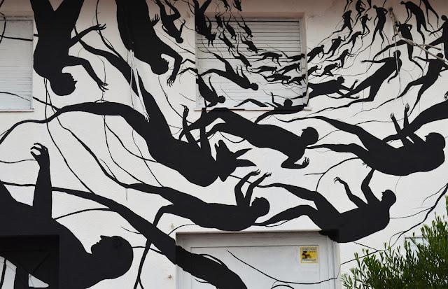 """""""Vortice"""" New Mural BY David De La Mano on the streets of Punta Del Este in Uruguay. 4"""