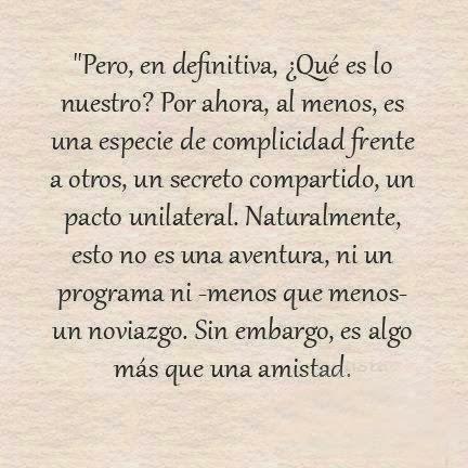 Más que una amistad...