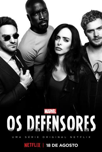 Marvel: Os Defensores 1ª Temporada Torrent – WEB-DL 4K Dual Áudio