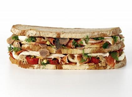 expensive von Essen Platinum club sandwich