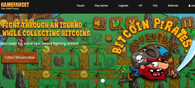 Register and get paid free Bitcoin for playing games at GameFaucet