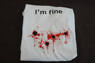 The opportunity to review a t shirt from bad idea t shirts they sent a