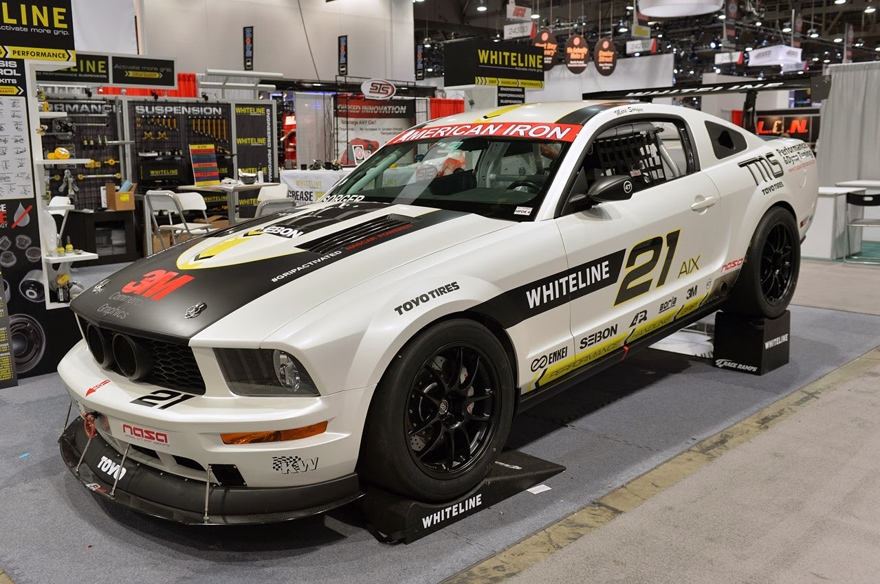 Nascar powered 2008 ford mustang aix race car