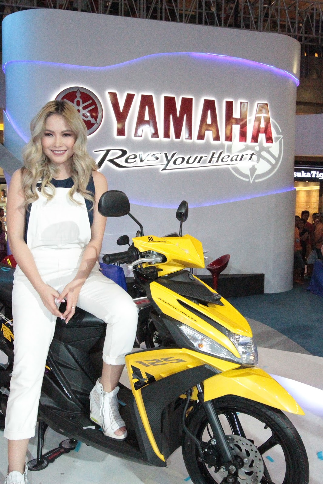 The Motion Of Innovation In Cebu - Yamaha International Motorshow 2015