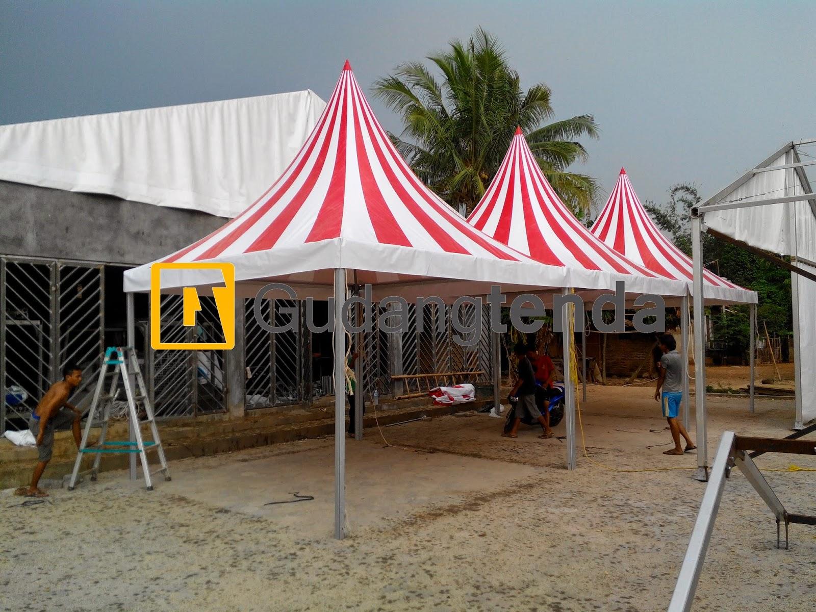 Pagoda Tent, Tenda Sirkus, Tenda sarnafil, Tenda sarnafil sirkus