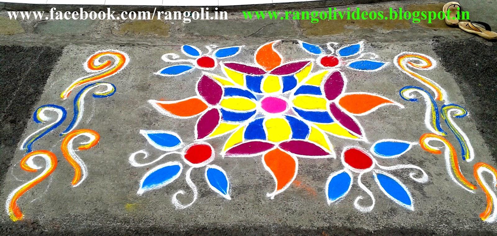 Diwali Rangoli , Kolam , Designs Images: Diwali 2013 rangoli designs