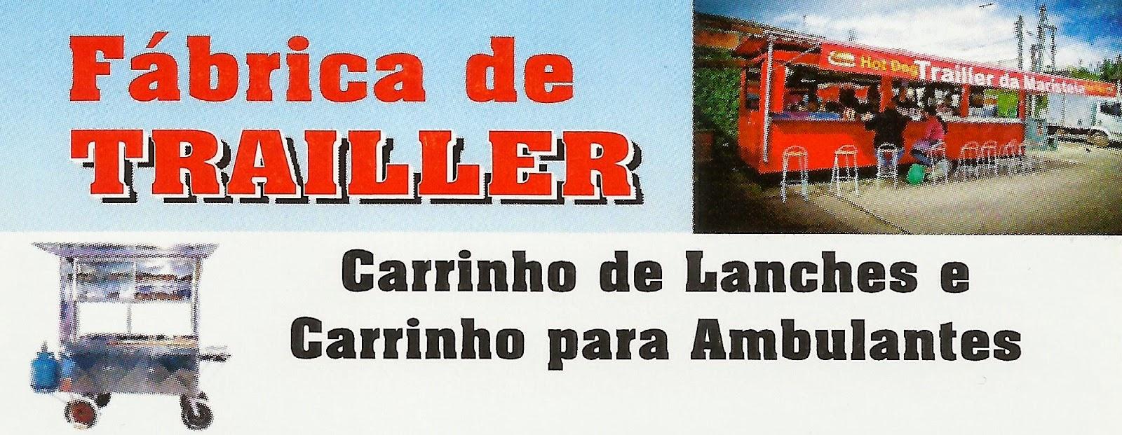 Fabrica de Trailler Rua. Nestor Trevizan, 403 Sorocaba - SP Site: www.fabricadetrailler.com.br tel: (15)3227-3918 / 3017-6064 Cel: (15) 99790-8126