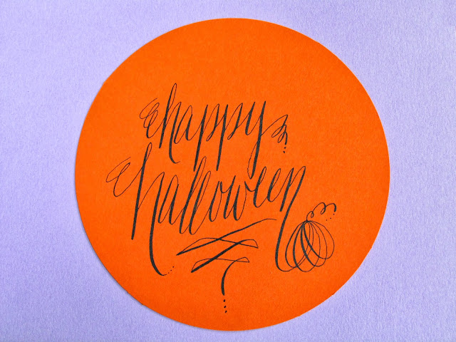 Lettering Lately Halloween