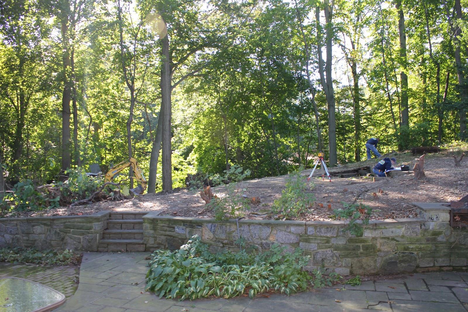 gardening and gardens backyard renovation part 2 retaining wall