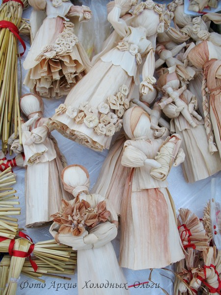 Куклы из кукурузных початков