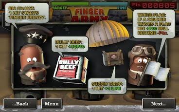 Finger Army game screenshots
