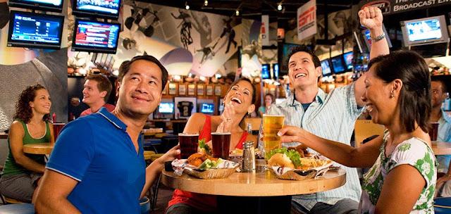 Disney's Boardwalk Restaurante ESPN