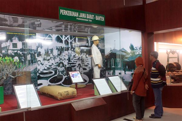 Salah satu koleksi di Museum Sri Baduga Bandung