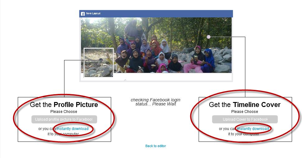 Cara Menggabungkan Foto Profil dan Foto Sampul dengan Cepat dan Tepat