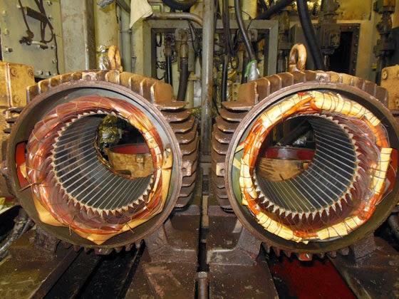 Судовые электродвигатели (способы защиты, режимы работы, способы управления)