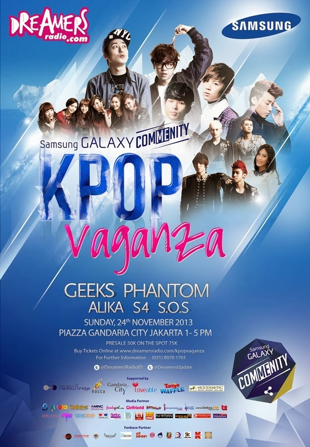 KPOPVAGANZA PARTY WITH GEEKS & PHANTOM 2013