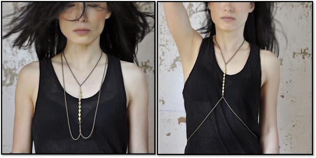 Bijoux Lunaticart  Le collier harnais