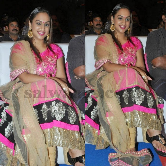 Preeta Pink Silk Salwar